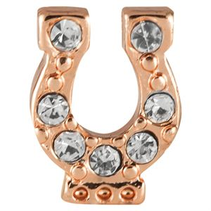 Picture of Rose Gold Horseshoe Charm